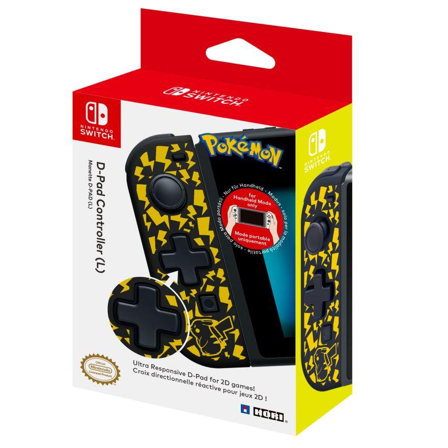 D-Pad controller (L) (Pikachu) (NSW-120E) (Nintendo Switch)