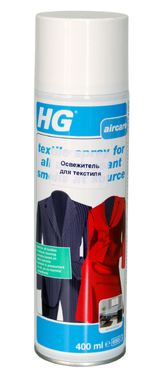 HG Освежитель для текстиля, 400 мл
