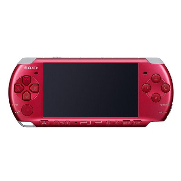 Игровая приставка Sony PSP Slim 3000 Red