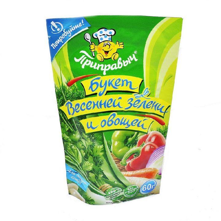 Приправа Приправыч Букет весенней зелени и овощей д/п 60гр