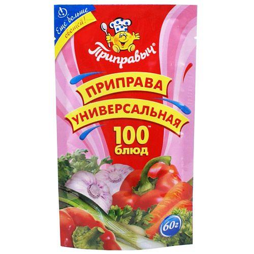 Приправа Приправыч универсальная 100 блюд 60г
