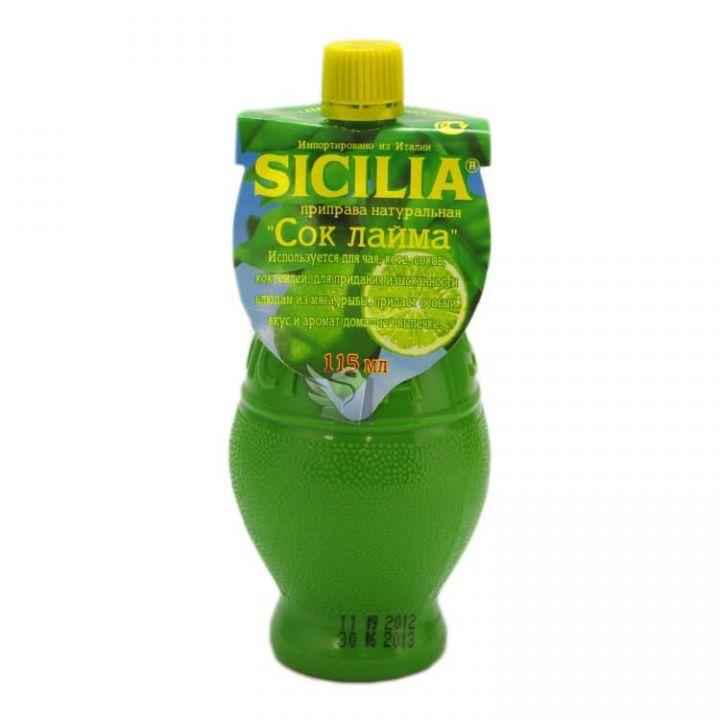 Концентрат сока Sicilia лайм 115г
