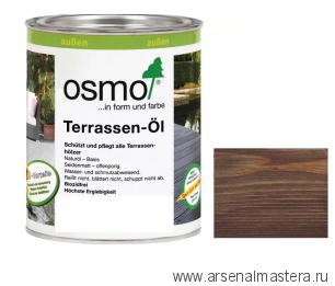 Масло для террас Osmo 021 Terrassen-Ole  Дуб мореный 0,75 л