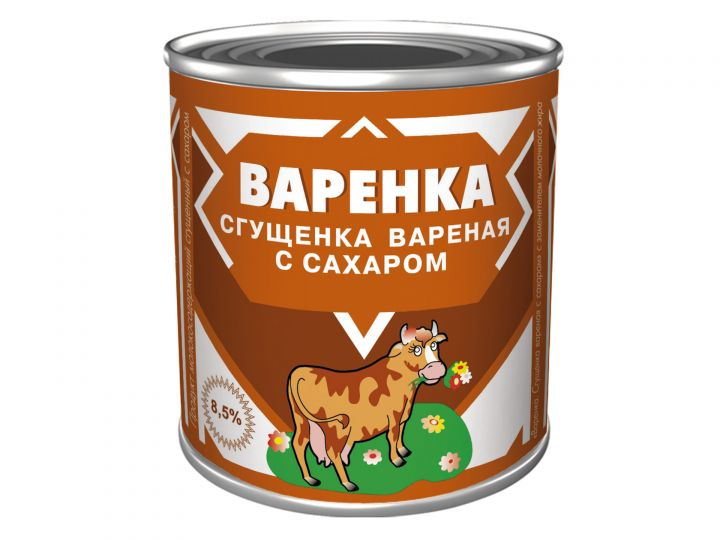 Консервы мол-сод с ЗМЖ Варенка 8.5% 360г ж/б ГОСТ Назарово