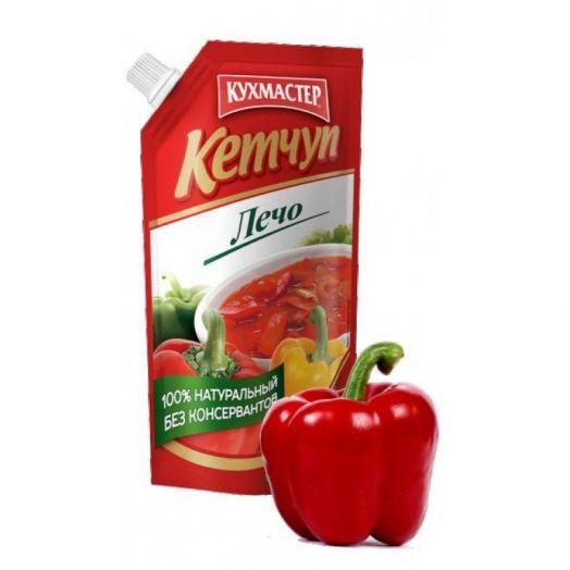 Кетчуп Кухмастер лечо д/п 350г