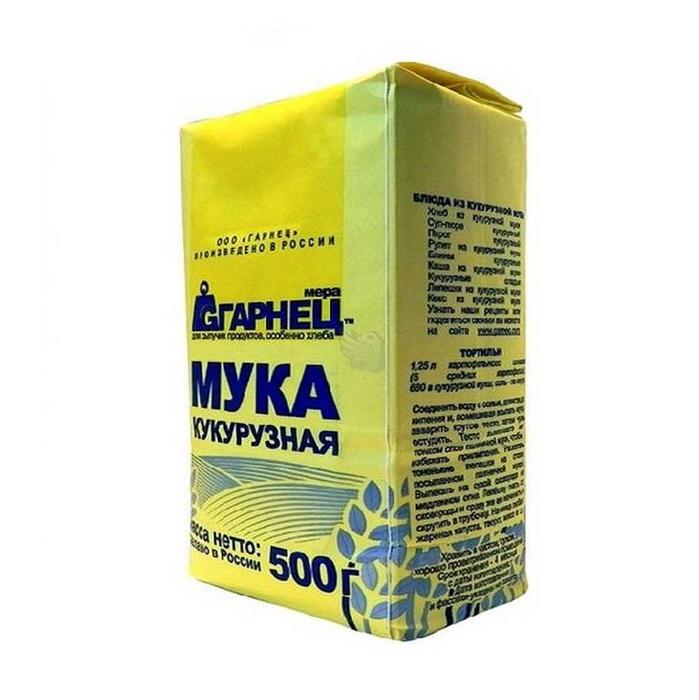 Мука Гарнец кукурузная 500г