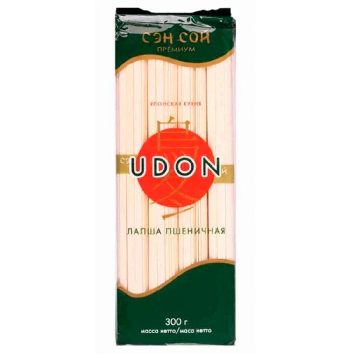 Лапша Udon пшеничная 300г СенСой