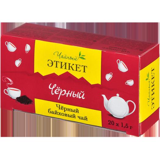 Чай Этикет Бергамот б/я 20пак*1,5г