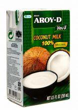 """Кокосовое молоко """"AROY-D"""" , 250 мл"""