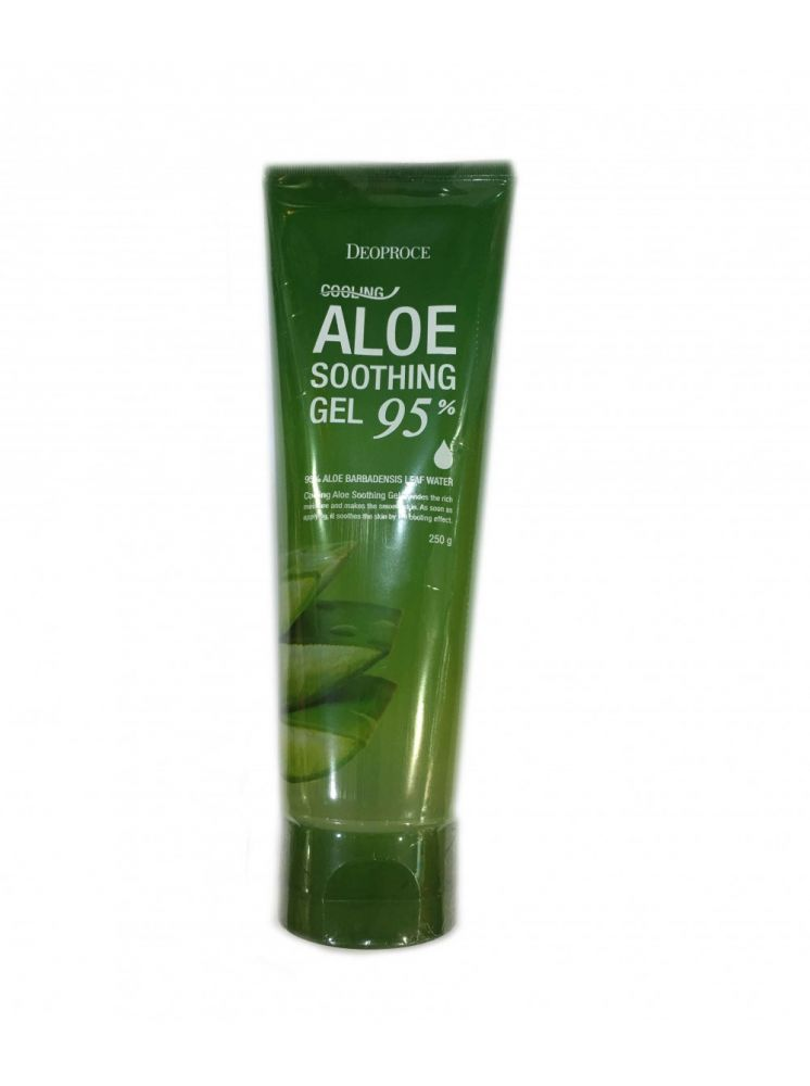 Гель для тела алоэ 95% DEOPROCE cooling aloe soothing gel 250гр