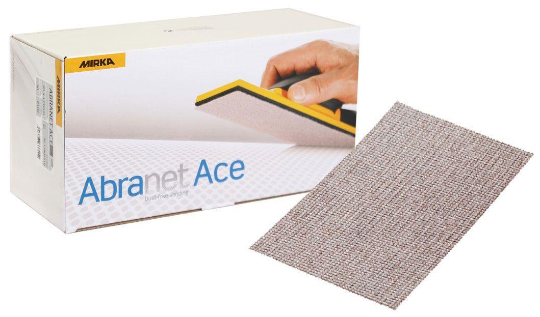 Mirka ABRANET ACE Шлифовальный материал на синтетической сетчатой основе, 70мм. х 198мм., Р120, (упаковка 50 шт.)