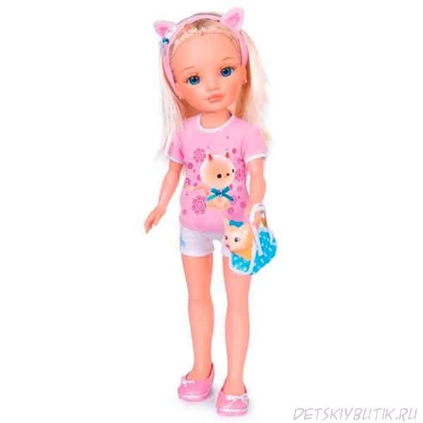 Кукла «Нэнси и её маленький питомец», Famosa