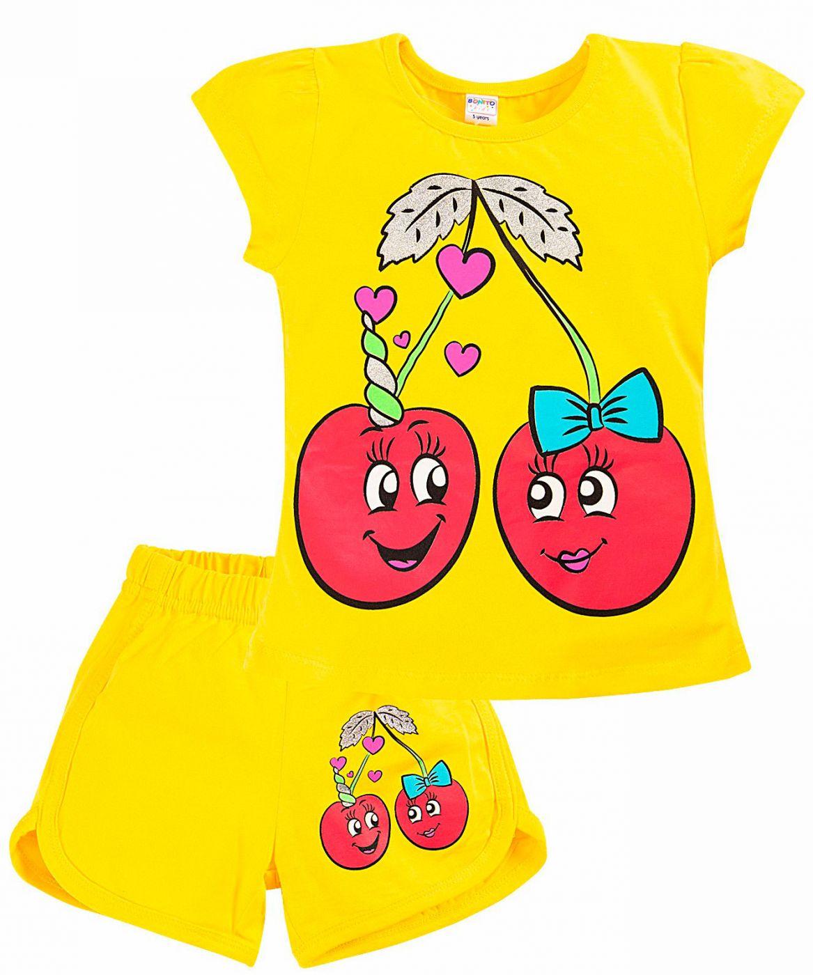 Комплект для девочек 4-8 лет BJ005FS1