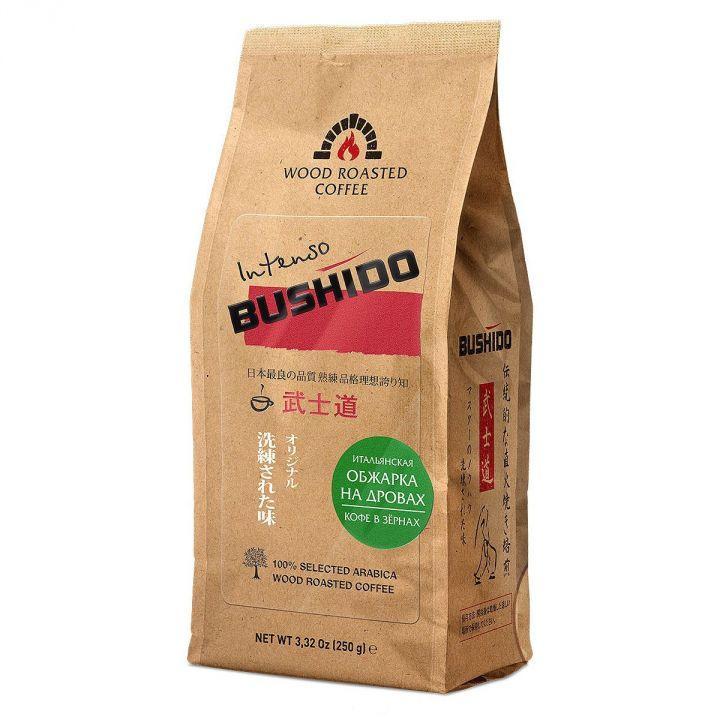 Кофе Бушидо Intenso зерно 250г