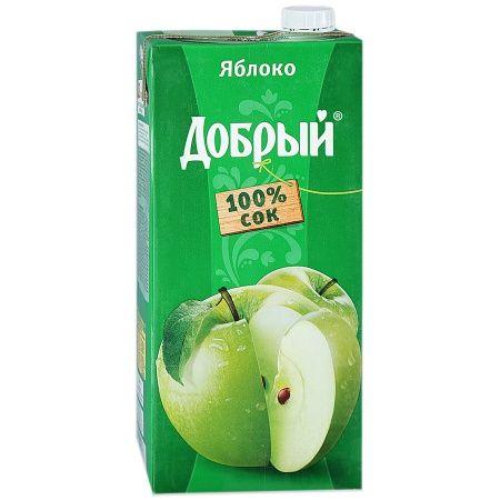 Сок Добрый 2л Яблоко Зеленое