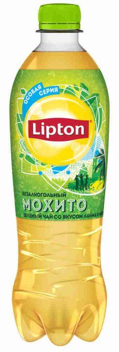 Чай Липтон 0,5л Мохито пэт Пепси