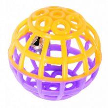 Игрушка для кошек Шарик с колокольчиком, набор 6 шт