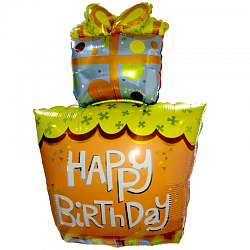 """Фигура Подарок """"Happi Birthday"""""""