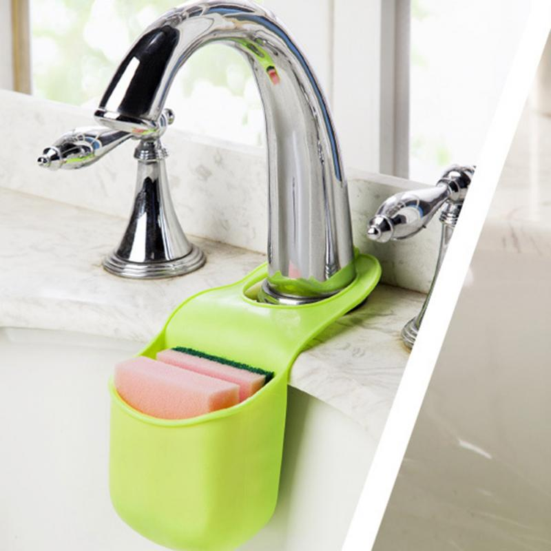 Подвесной Карман Для Раковины Silicone Sink Top Hanger, Цвет Зеленый