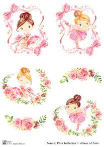 Pink ballerina 1