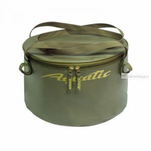 В-06 Ведро Aquatic для замешивания корма (герметичное, с крышкой)