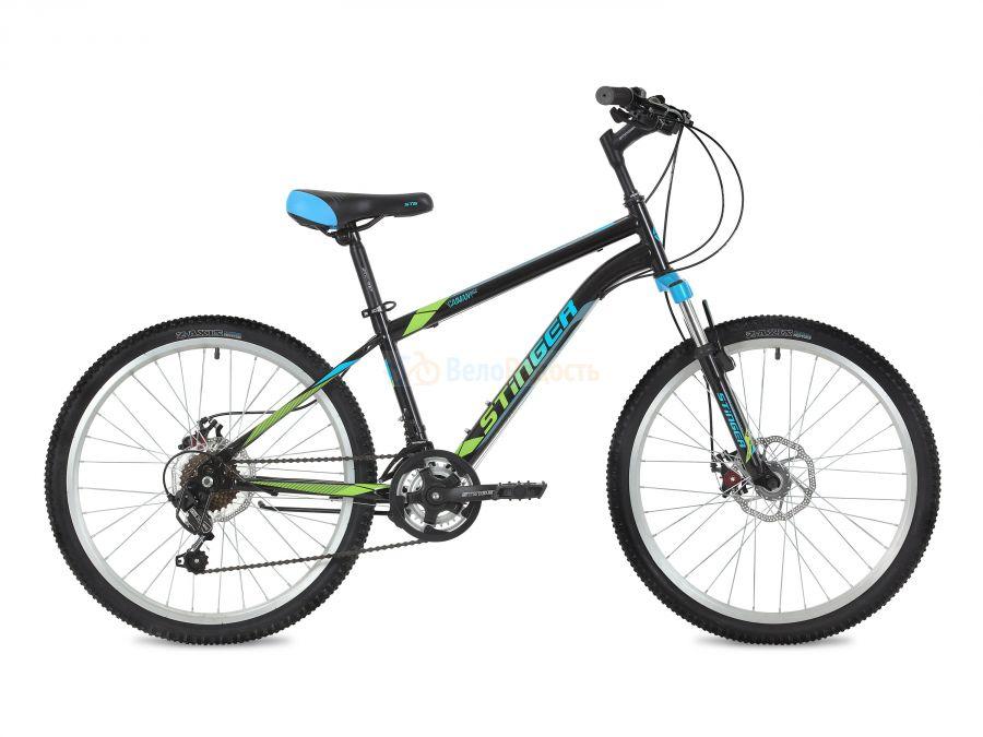 Велосипед подростковый Stinger Caiman D 24 (2018)
