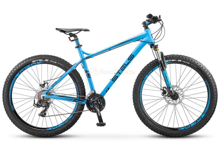 Велосипед полуфэт Stels Navigator 660 MD 27.5+ V020 (2018)