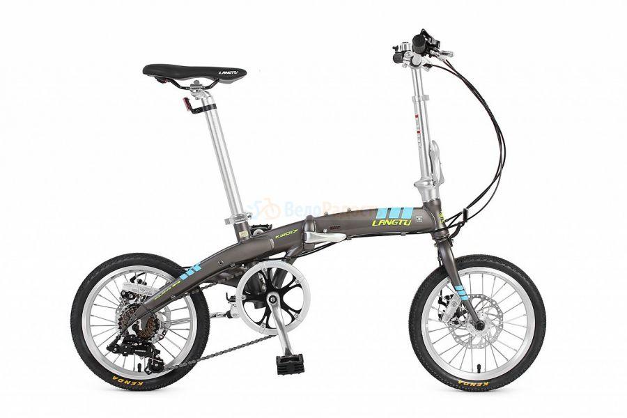 Велосипед складной Langtu KW 017 (2017)