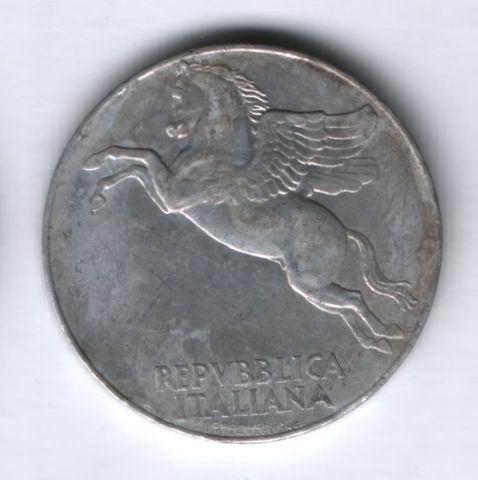 10 лир 1950 года Италия