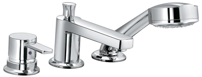 Однорычажный смеситель для ванны с душем KLUDI Zenta 38446 0575