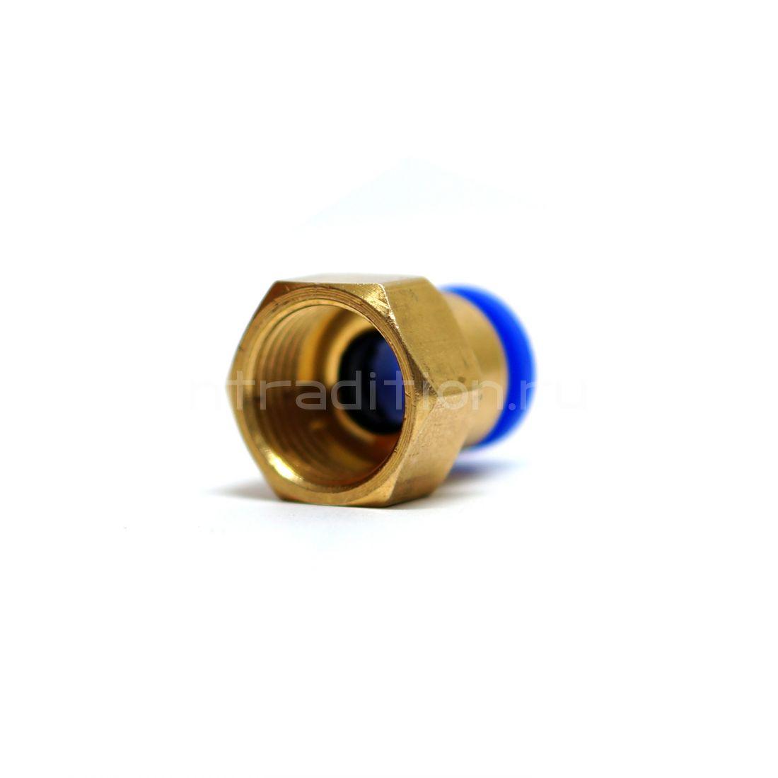 Штуцер-быстросъем 1/2 на 10 мм внутренняя резьба