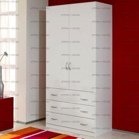 Шкаф двухдверный 315 (80х52х217)