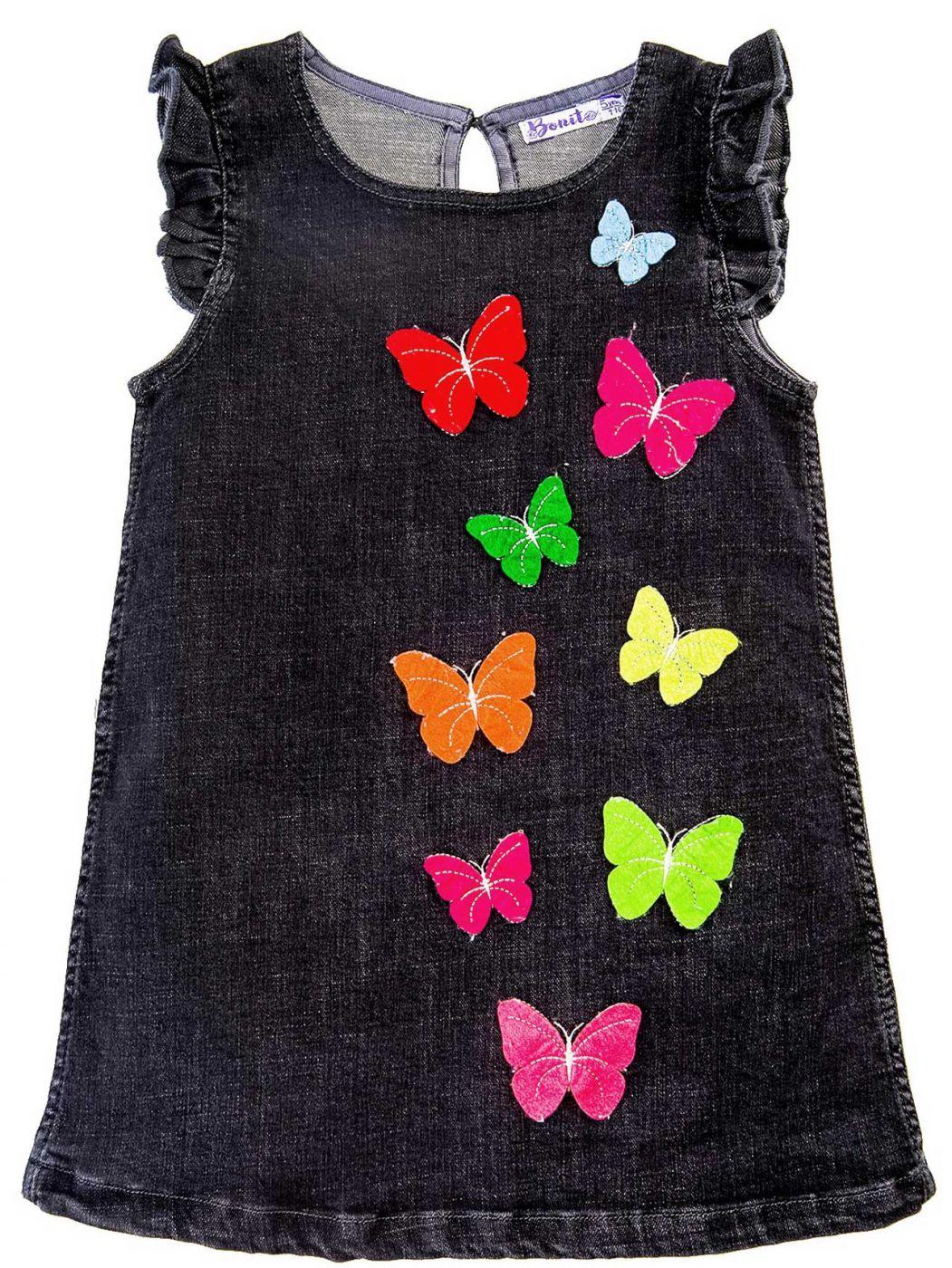 Платье джинсовое для девочек 2-5 лет Bonito BJ768P3