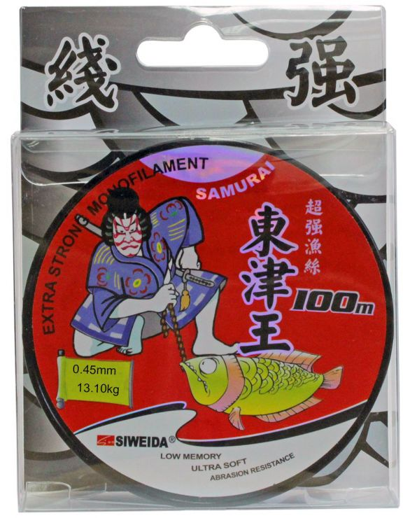 Леска SWD  Samurai 100м прозрачная