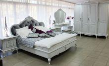 Спальня БАРОККО 3-дверный шкаф, эмаль