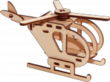 Деревянный конструктор вертолет «Шмель»