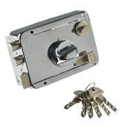 Замок накладной 600П проф ключ, ключ-вертушка