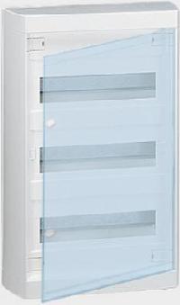 601248 Nedbox щит навесной 3х12м с прозрачной дверью Legrand