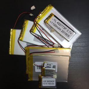 Аккумулятор технический универсальный (3.7 V/2000 mAh) (3 мм x 50 мм х 60 мм)