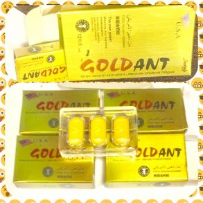 Gold Ant Золотой Муравей , 12 таб для потенции