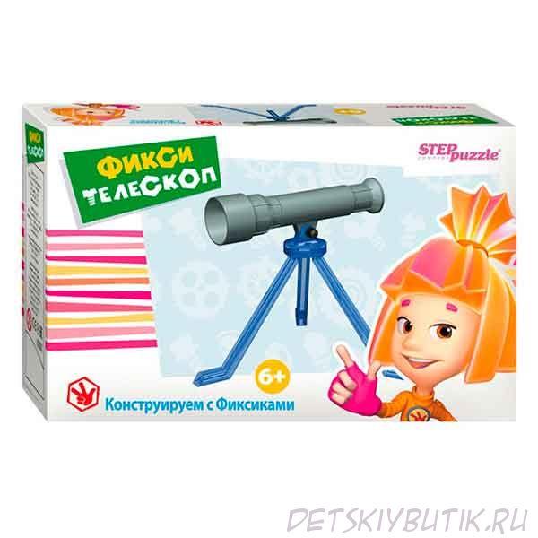 Развивающая игра-конструктор «Фикси-телескоп»