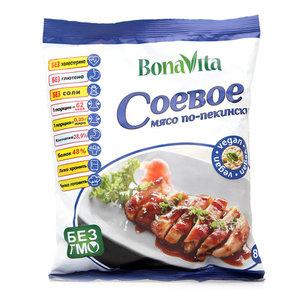 "Соевое мясо ""Bona Vita"" Мясо по-пекински, 80 г."