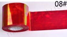 Фольга для создания эффекта БИТОЕ СТЕКЛО № 08, размер 5х25 см