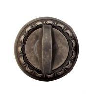 Накладка-фиксатор круглая Melodia 50 D WC. серебро античное