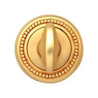 Накладка-фиксатор круглая Melodia 50 L WC. французское золото