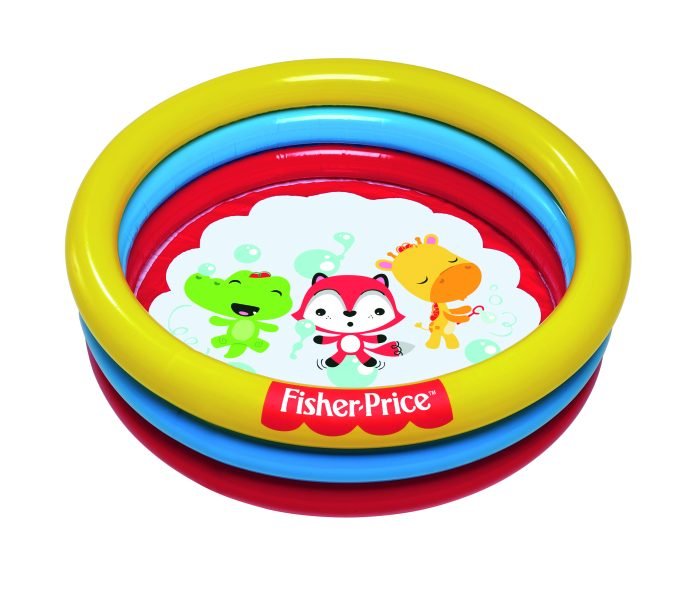 Бассейн с 25 шариками, Fisher Price 91 х 25 см, 88 л.