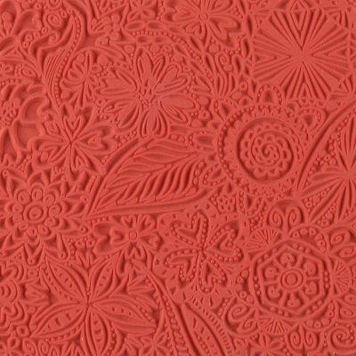 Текстурный лист, Цветы