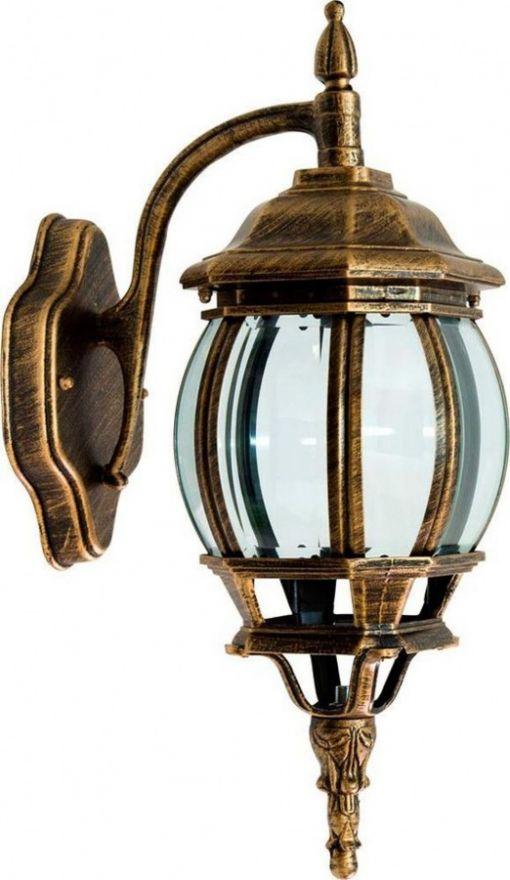 Светильник садово-парковый Feron 8102 восьмигранный на стену вниз