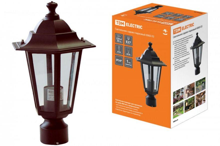 Садово-парковый светильник TDM SQ0330-0013