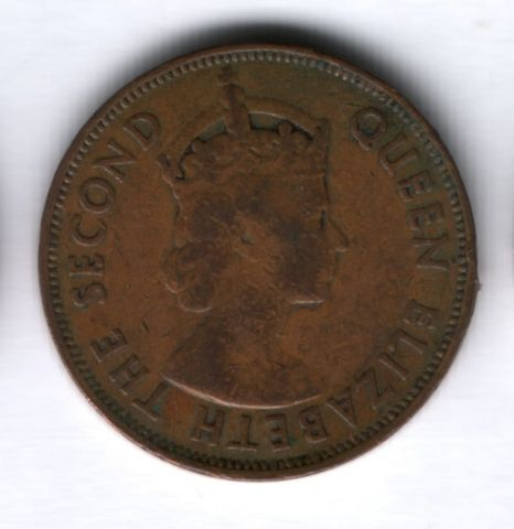5 центов 1964 года Маврикий
